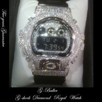 G-SHOCKカスタム ダイアモンドWG FULLカスタム 5年保証付き Royal Platinum watch