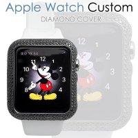アップル ウォッチ ダイヤ カスタム ダイヤモンド ケース ベゼルカバー Apple watch