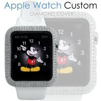 アップル ウォッチ カスタム ダイヤモンド Apple Watch ダイヤ ケース カバー