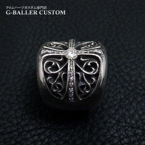 画像3: クロムハーツ オーバルクロス ダイヤ カスタム