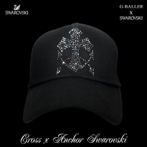 他の写真1: クロス アンカー キャップ G-BALLER スワロフスキーCAP
