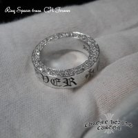 CH Forever Ring/クロムハーツ フォエバーリング・スペーサーリング アフターダイヤ