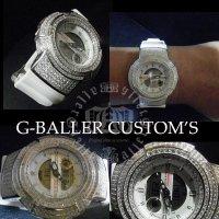 G-SHOCK CUSTOM  高級時計  レアウォッチ S,Diamond ウォッチ メンズ レディース 高級腕時計,