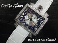 ガガミラノ GaGa MILANO Napoleone48m フルダイヤ  gaga時計 ナポレオーネ48m