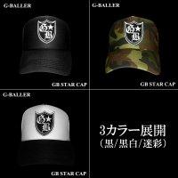 G-BALLER メッシュキャップ GBスター ロゴ ワッペンCAP