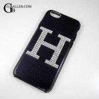 iPhone ケース スワロフスキー H カバー 5/6/7 対応