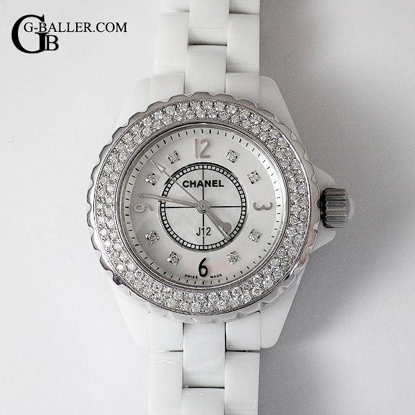 CHANEL J12にアフターダイヤモンド加工を致します。