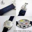 画像3: ジェイコブ/JACOB&CO 5タイムゾーン 正規 ダイヤモンド 47mm メンズ 腕時計 (3)