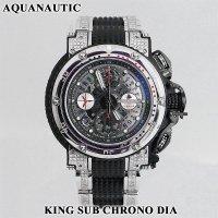アクアノウティック  ダイヤ キングサブクロノ スカルトンI ダイヤモンド