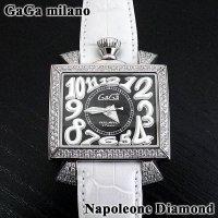 ガガミラノ 時計 ナポレオーネ 48mm ダイヤ GaGa MILANO 正規品
