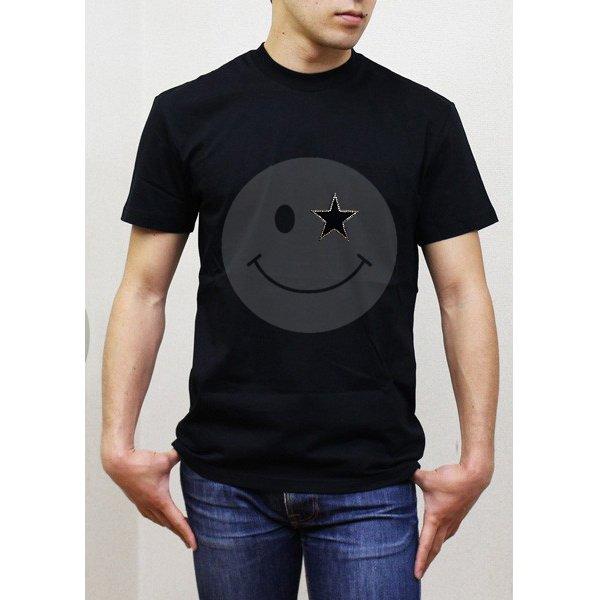 画像5: ニコSTAR スワロフスキー Tシャツ スマイル スワロ 半袖 ニコチャン