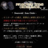 SWAROVSKI  ORDER MADE 製作, スワロフスキーオーダーメイド 製作 オーダーTシャツ キャップ アクセサリー