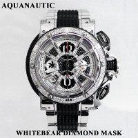 アクアノウティック ホワイトベアII アフターダイヤモンド マスク ダイヤ