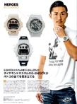おとこの腕時計HEROES2017年4月号では、K1チャンピョンの山崎秀晃選手が登場