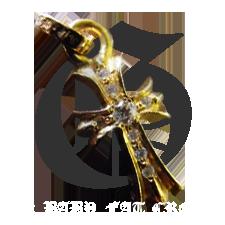 22k ベイビーファット クロス チャーム ダイヤ詳細ページへ