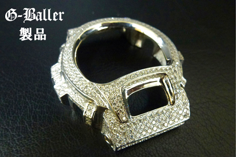 G-Ballerの商品です。1石づつ爪で留めております