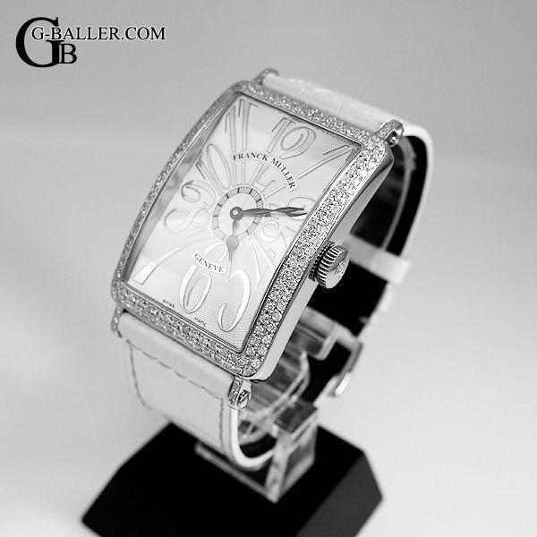 フランクミュラーダイヤ時計 ロングアイランド