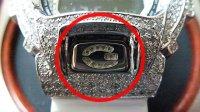 DW6900 カスタム ボタン レアカスタムパーツ!! ELボタン バックライト Customボタン