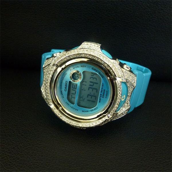 画像1: G-SHOCK MINI BABY-G BG169 GショックCustomカバー,レア人気商品