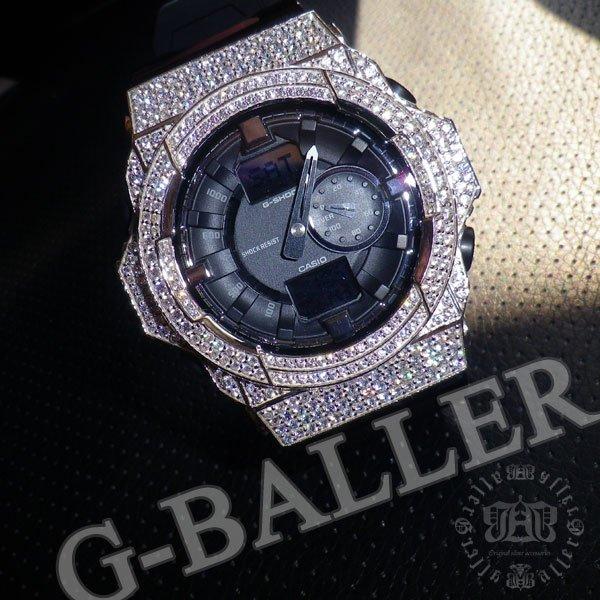 画像1: ウブロ仕様 GA150 ホワイト Diamond フルコンプリートモデル!