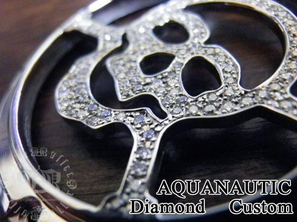 画像4: アクアノウティック アクアノウティック  スカル ベゼル マスク  ダイヤカスタム