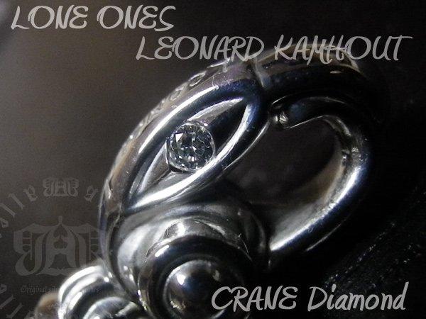 画像2: LONE ONES(ロンワンズ)  シルクリンクブレスレット アフターダイヤカスタム