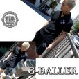 画像4: スワロフスキー ハーフパンツ クロス メンズ スワロ G-BALLER (4)