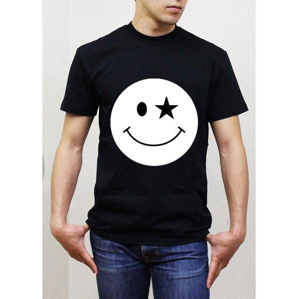 画像2: ニコSTAR Tシャツ (Print) スマイルTシャツ 雑誌掲載 人気商品