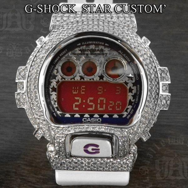 画像2: G-SHOCK カスタム  スター インデックス DW-6900SC-8