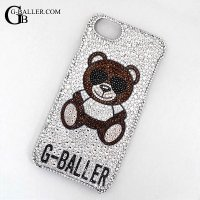 GB-Bear iphoneケースデコ BROWN
