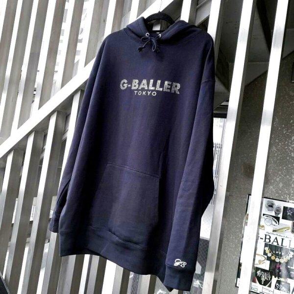 画像2: G-BALLER TOKYO スワロパーカー BLACK プルオーバー