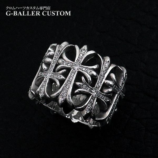 画像3: クロムハーツ カスタム セメタリークロス リング ダイヤ