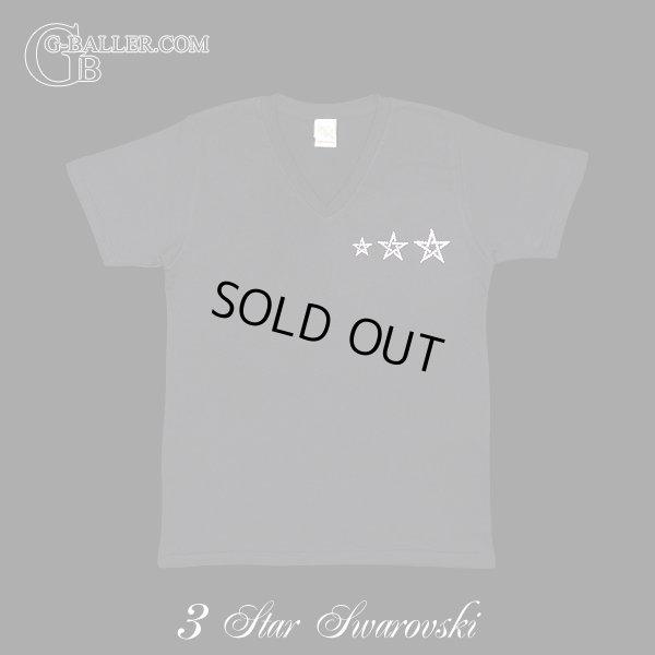 画像1: 3STAR Vネック スワロTシャツ Mサイズ 期間限定SALE!!