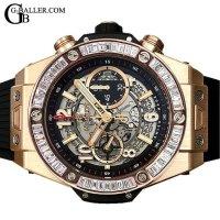 ウブロアフターダイヤ | ビッグバン ウニコ キングゴールド バゲットダイヤ 411.OX.1180.RX HUBLOT時計