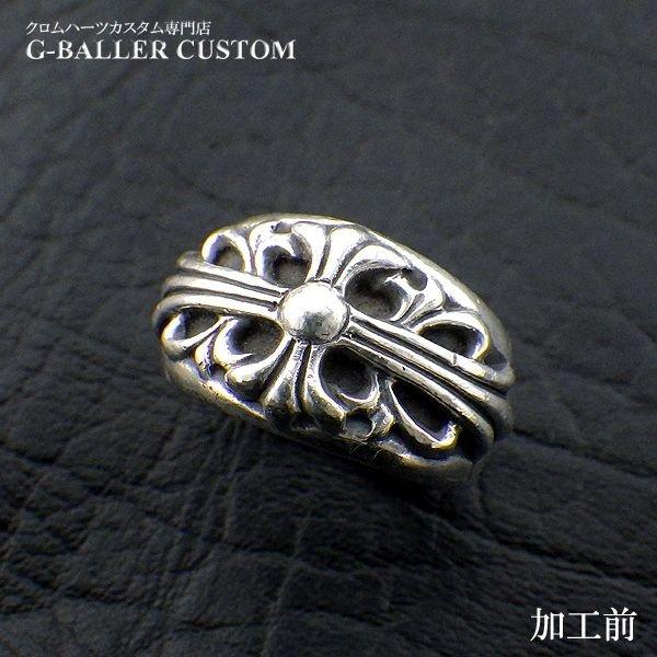 画像5: クロムハーツカスタム フローラルクロスリング ダイヤ