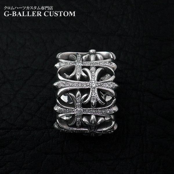 画像4: クロムハーツ カスタム セメタリークロス リング ダイヤ