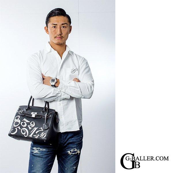 K1 日本王者の山崎秀晃選手着用モデル
