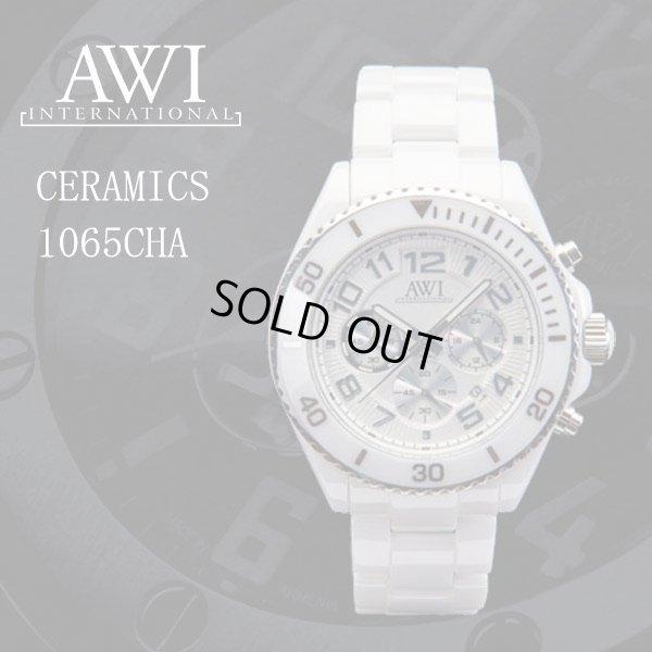画像1: フランクミュラー 新ブランド AWI 腕時計 セラミック 1065CHA ホワイト