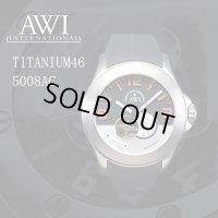 フランク・ミュラー 腕時計 新ブランド AWI 腕時計 チタニウム46 5008AC