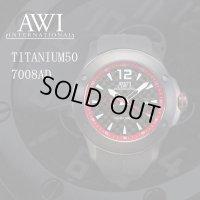 AWI インターナショナル 時計 チタニウム50 7008AD レッド フランク・ミュラー 新ブランド