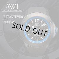 AWI インターナショナル 時計 チタニウム50 7008AG ブルー フランク・ミュラー 新ブランド