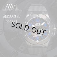 フランクミュラー 新ブランド AWI 時計 エアロドライブ 46mm 9008AJ ブルー
