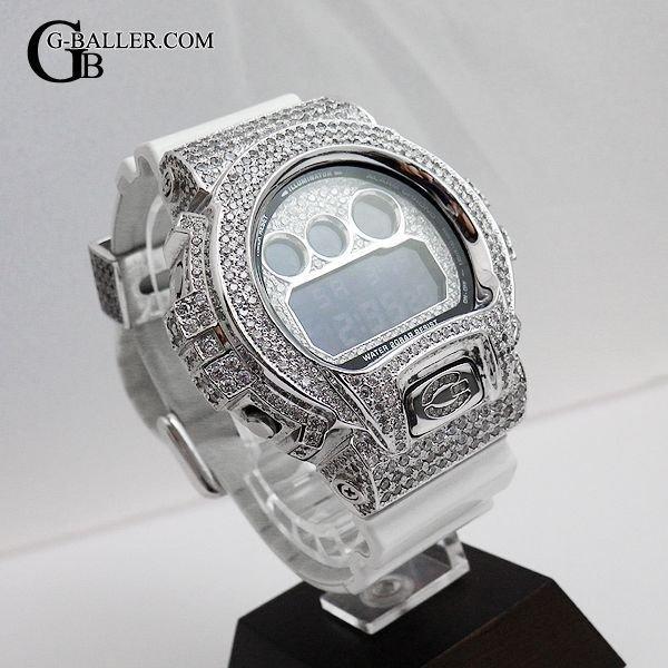 """画像2: カシオ Casio G-Shock Custom Diamond / """"White Complete DW-6900"""""""