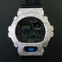 GB6900 カスタム 本体セット!! WHITE DIAMOND Gショックカスタム GB BLUETOOTH カスタム 世界初のブルートゥース G-SHOCKカスタム!