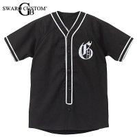 G'ベースボールシャツ スワロイニシャル