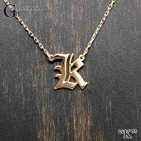 イニシャルペンダント【K】 K18/K10
