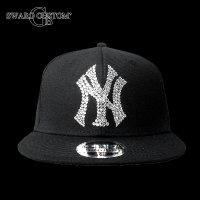 ニューエラ NY スワロフスキー CAP NEW ERA