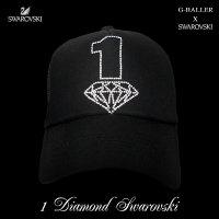 1 ダイヤ 数字 SWAROVSKI  オリジナル スワロキャップ