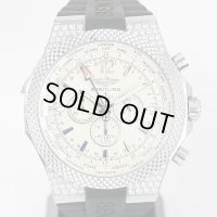 Breitling Bentley GMT A47362 Diamond New Rubber Strap & Buckle Included