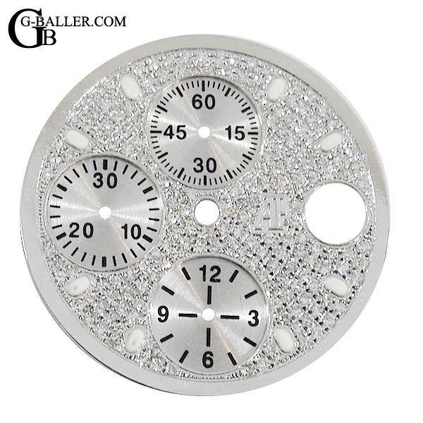 オーデマピゲ ロイヤルオークオフショア用 ダイヤ文字盤